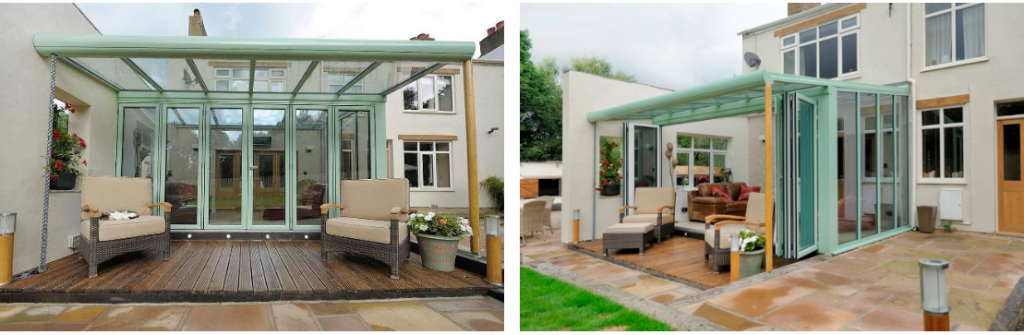 orangery or conservatory office
